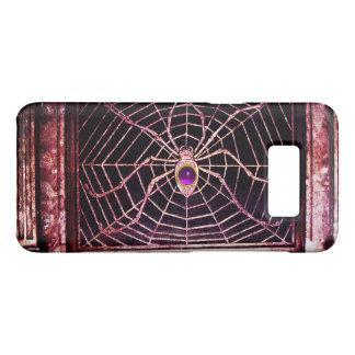 SPIDER AND WEB Purple Amethyst Black Case-Mate Samsung Galaxy S8 Case