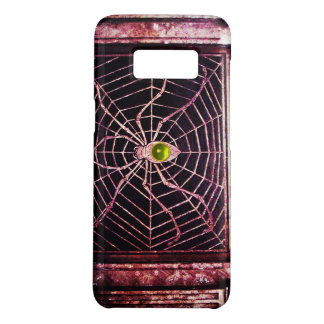 SPIDER AND WEB Yellow Topaz Black Case-Mate Samsung Galaxy S8 Case