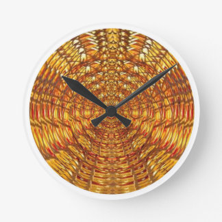 Spider Basket Weave : Attracts n retains energies Round Clock