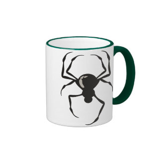 Spider Black Mugs