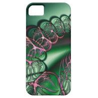 Spider Bubbles Fractal iPhone 5 Cases