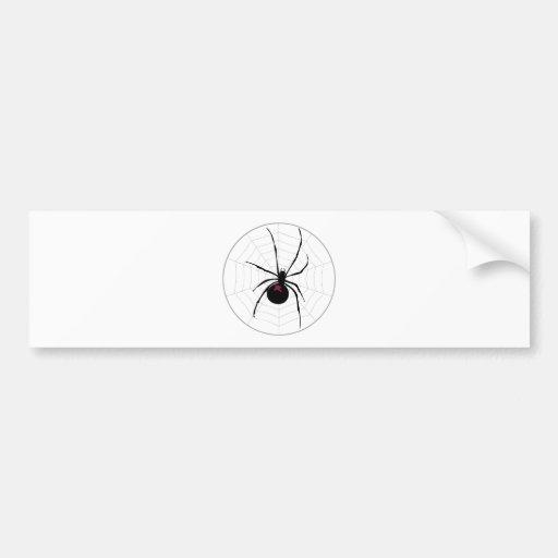 Spider Bumper Stickers