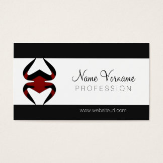spider business card