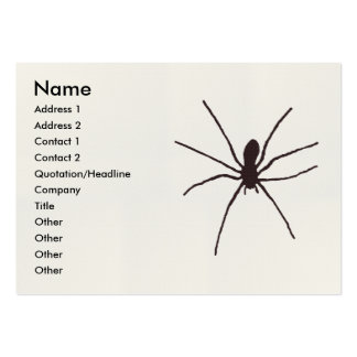 spider business card template