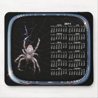 Spider Calendar framed mousepad