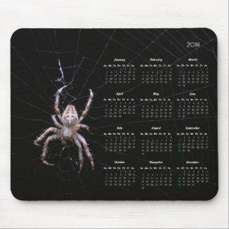 Spider Calendar mousepad