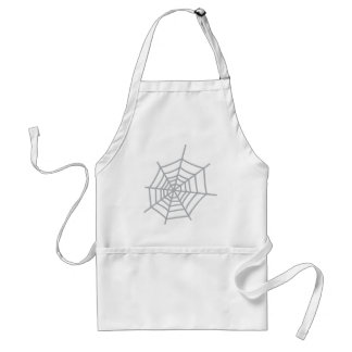 spider cobweb spiderweb adult apron