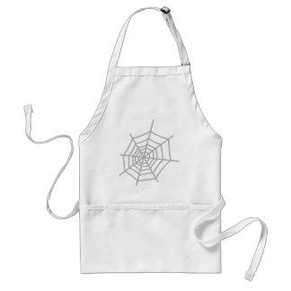 spider cobweb spiderweb adult apron