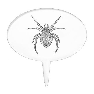 Spider - Complicated Coloring Cake Topper
