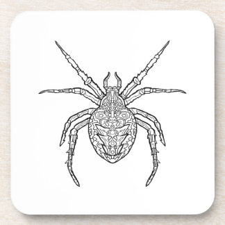 Spider - Complicated Coloring Drink Coaster