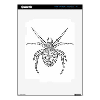 Spider - Complicated Coloring iPad 3 Skins