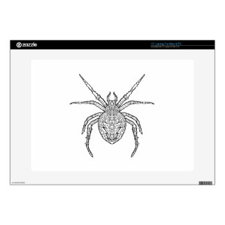 Spider - Complicated Coloring Laptop Skin