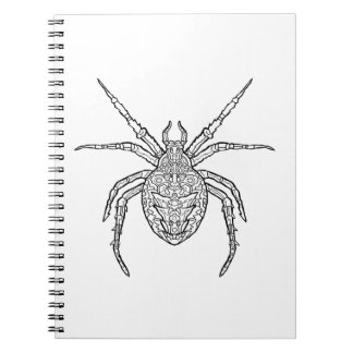 Spider - Complicated Coloring Notebook