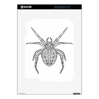Spider - Complicated Coloring Skins For The iPad 2