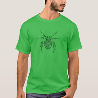 Spider - Complicated Coloring T-Shirt