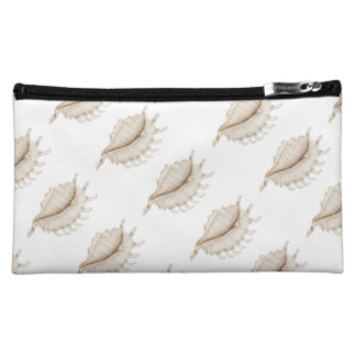 Spider Conch Shell in Coloured Pencil Cosmetic Bag