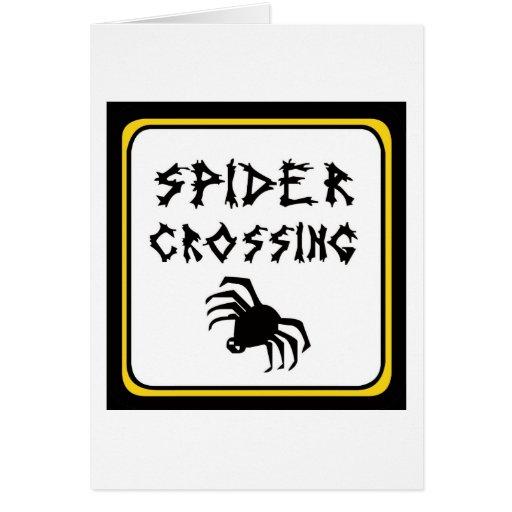 Spider Crossing drk Card