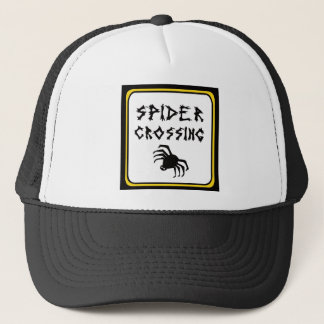 Spider Crossing drk Trucker Hat