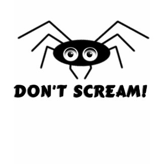 Spider - DON'T SCREAM! shirt