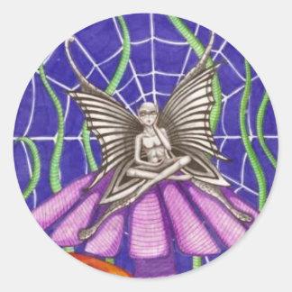 """""""Spider Fairy"""" Stickers/Envelope Seals"""