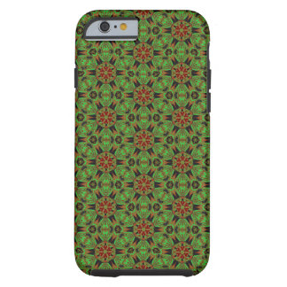 Spider Fangs Lime Green Bohemian iPhone 6/6s Case