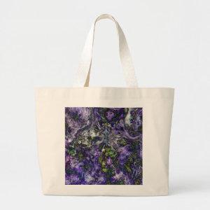 Spider flower design bag