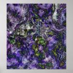 Spider Flower Print