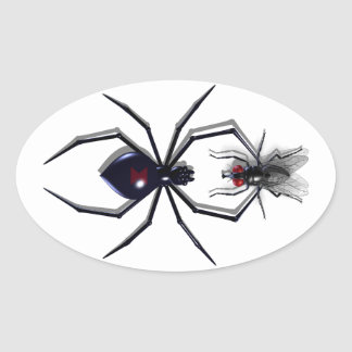 Spider & Fly Stickers