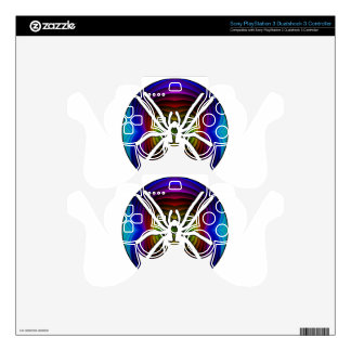 SPIDER GIFTS CUSTOMIZABLE PRODUCTS PS3 CONTROLLER DECAL