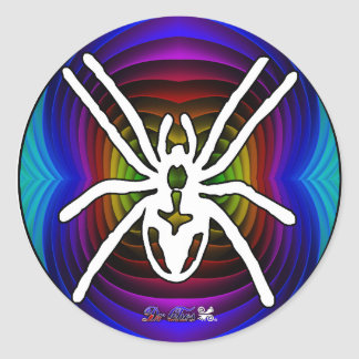 SPIDER GIFTS CUSTOMIZABLE PRODUCTS ROUND STICKERS