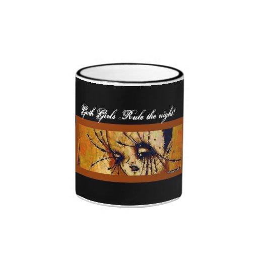 Spider girl coffee mugs