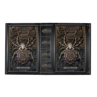 Spider Guard Steampunk. iPad Cover
