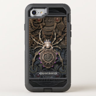 Spider Guard Steampunk. OtterBox Defender iPhone 7 Case