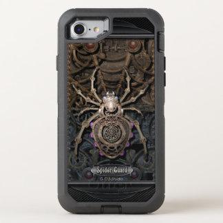 Spider Guard Steampunk. OtterBox Defender iPhone 8/7 Case