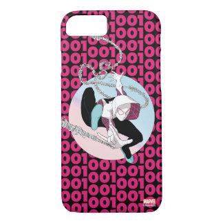Spider-Gwen Binary Code iPhone 8/7 Case