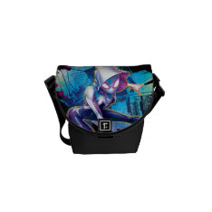 Spider-gwen: Crawling… Make Way Courier Bag at Zazzle