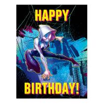 Spider-Gwen: Crawling… Make Way Postcard