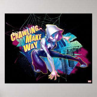 Spider-Gwen: Crawling… Make Way Poster
