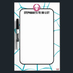 """Spider-Gwen Icon Dry-Erase Board<br><div class=""""desc"""">Check out this cool icon for Spider-Gwen! Customize your own Spider-Man merch by clicking the customize button to resize the artwork or add your own text!</div>"""