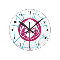 Spider-Gwen Icon Round Clock