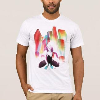 Spider-Gwen Neon City T-Shirt