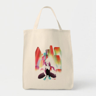 Spider-Gwen Neon City Tote Bag