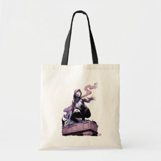 Spider-Gwen On Rooftop Tote Bag