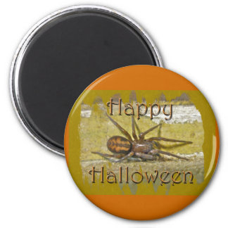 Spider Halloween Holiday Coordinating Items 2 Inch Round Magnet