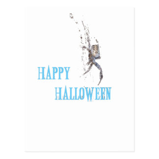spider halloween post cards