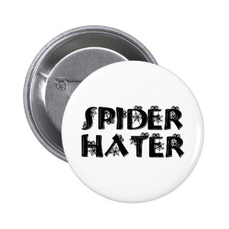 Spider Hater Buttons