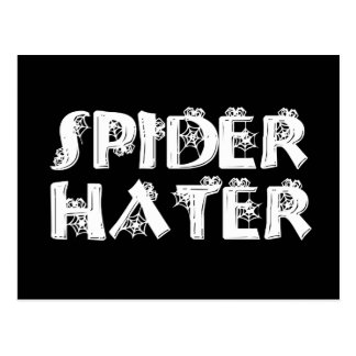 Spider Hater Postcard