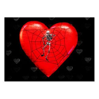 Spider Heart Business Card Template
