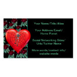 Spider Heart Business Card Templates