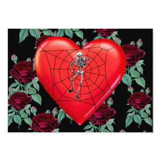 Spider Heart Card